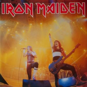 IRON MAIDEN - Running free (live) - rerelease      Single