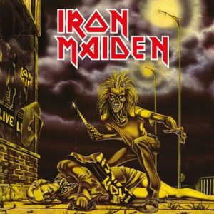 IRON MAIDEN - Sanctuary - rerelease      Single