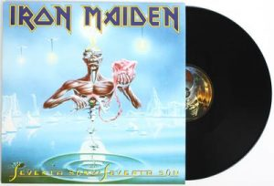 IRON MAIDEN - Seventh son of a seventh son - rerelease      LP