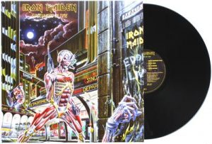 IRON MAIDEN - Somewhere in time - rerelease      LP