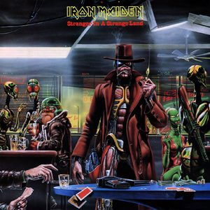 IRON MAIDEN - Stranger in a strange land - rerelease      Single