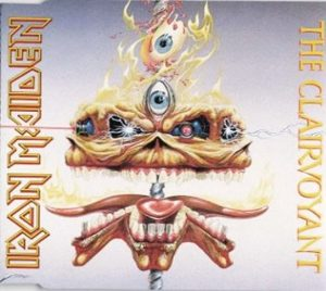IRON MAIDEN - The clairvoyant - rerelease      Single