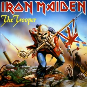IRON MAIDEN - The trooper - rerelease      Single