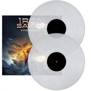 IRON SAVIOR - Titancraft - clear vinyl      DLP
