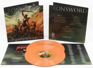 IRONSWORD - None but the brave - orange vinyl      DLP