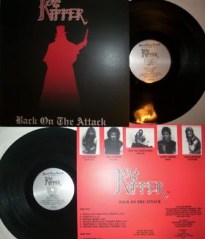 JACK THE RIPPER - Back on the attack      LP