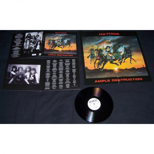 JAG PANZER - Ample destruction & bonustr.      LP