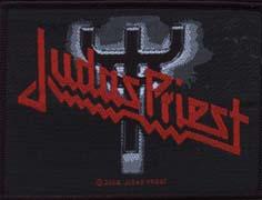JUDAS PRIEST - Logo fork      Aufnäher