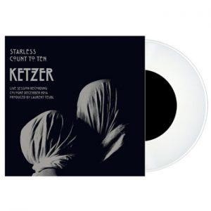 KETZER - Starless - white vinyl      Single