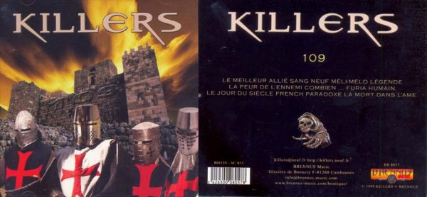 KILLERS (F) - 109      CD