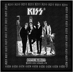 KISS - Dressed to kill      Aufnäher