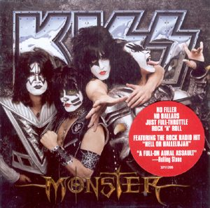 KISS - Monster - Original logo      CD