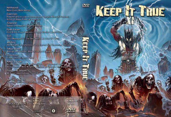 KEEP IT TRUE - KIT XI - November 2008      DVD
