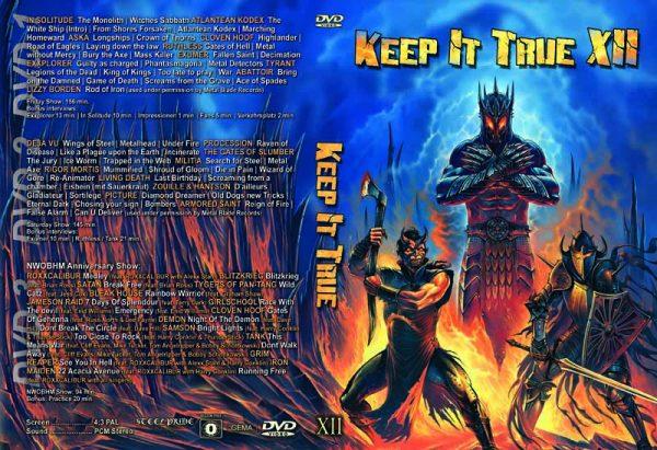 KEEP IT TRUE - KIT 12      3-DVD