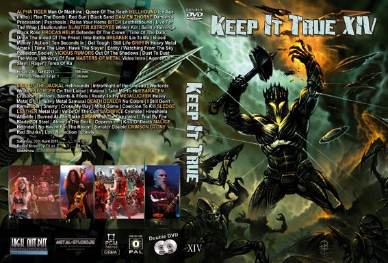 KEEP IT TRUE - KIT XIV - 2011      2-DVD