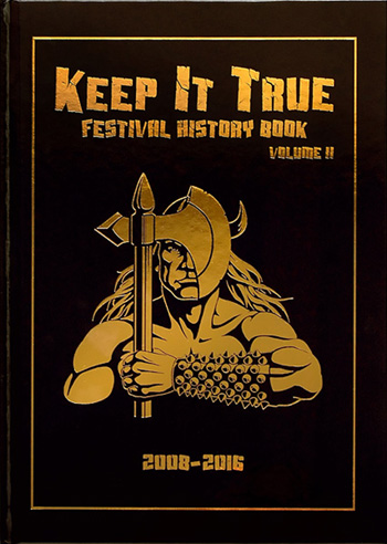 KEEP IT TRUE - Festival History Book Vol. II - limited 500!      Buch