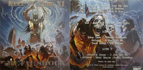 KEEP IT TRUE XI - Metal shock      DLP