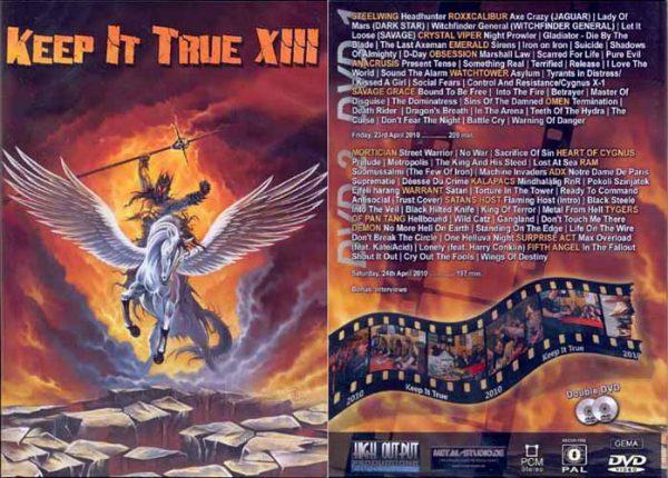 KEEP IT TRUE - KIT XIII - Festival 2010      2-DVD