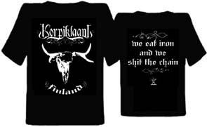 KORPIKLAANI - Finland      Girlieshirt - 100 % Baumwolle
