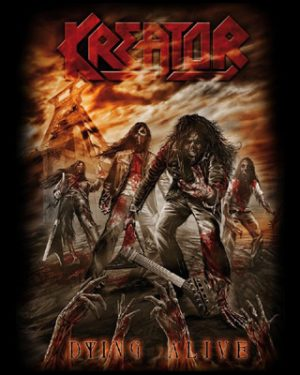 KREATOR - Dying alive      Aufnäher