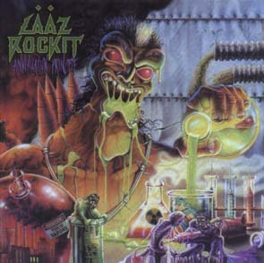 LAAZ ROCKIT - Annihilation principle - rerelease      CD&DVD