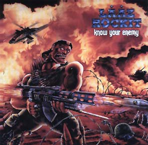 LAAZ ROCKIT - Know your enemy - rerelease      CD&DVD