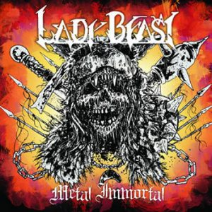 LADY BEAST - Metal immortal      Maxi CD