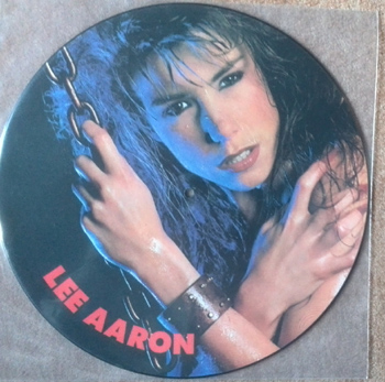 LEE AARON - Barely holdin` on - Pic.Disc      12""