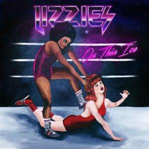 LIZZIES - On thin ice      LP