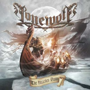 LONEWOLF - The heathen dawn      CD