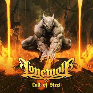 LONEWOLF - Cult of steel      CD