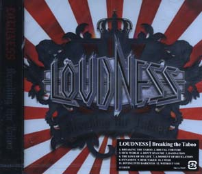 LOUDNESS - Breaking the taboo      CD