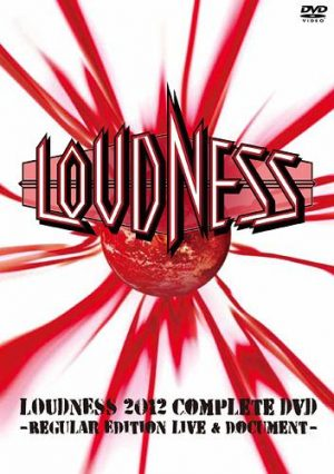 LOUDNESS - 2012 complete DVD - 30th anniversary tour 2012      2-DVD
