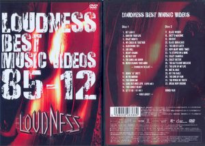 LOUDNESS - Best music videos 85-12      2-DVD