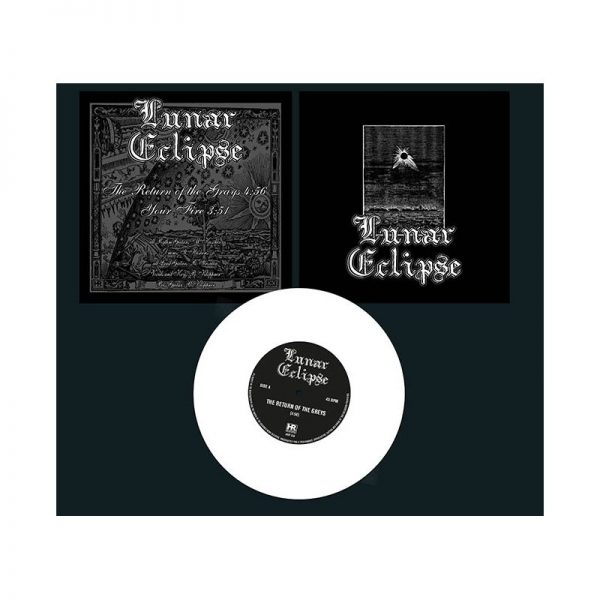 LUNAR ECLIPSE - Lunar Eclipse - white vinyl      Single