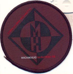MACHINE HEAD - Burning red      Aufnäher