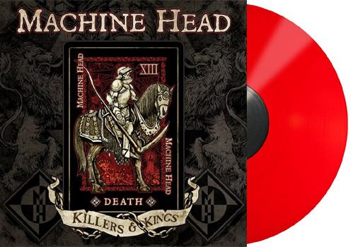"""MACHINE HEAD - Killers & kings - red vinyl      10"""""""