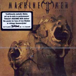 MACHINE MEN - Elegies      CD