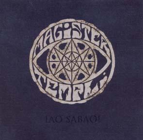 MAGISTER TEMPLI - Iao Sabao      Maxi CD
