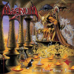MAGNUM - Sacred blood divine lies      CD&DVD