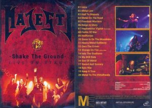 MAJESTY - Shake the ground      DVD