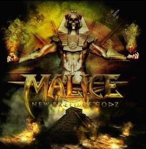 MALICE - New breed of godz      CD&DVD