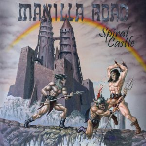 MANILLA ROAD - Spiral castle      CD