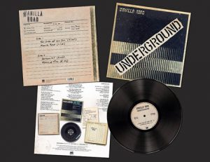 MANILLA ROAD - Underground      LP