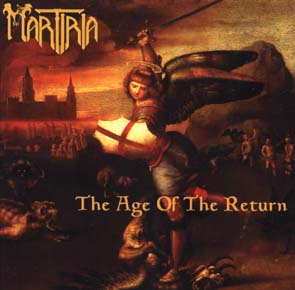 MARTIRIA - The age of the return      CD