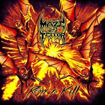 MAZE OF TERROR - Ready to kill      CD