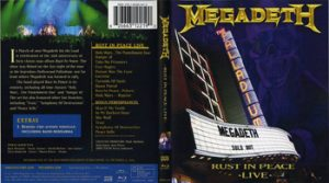 MEGADETH - Rust in peace live      Blu-Ray