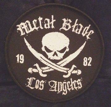 METAL BLADE - Los Angeles 1982      Aufnäher