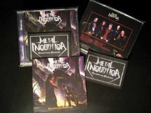 METAL INQUISITOR - Unconditional absolution - ultimate edition & exclusive (CD) patch      CD