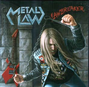 METAL LAW - Lawbreaker      CD